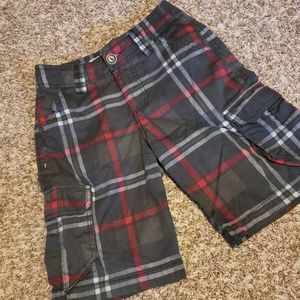 Other - 4/$20 plaid cargo shorts